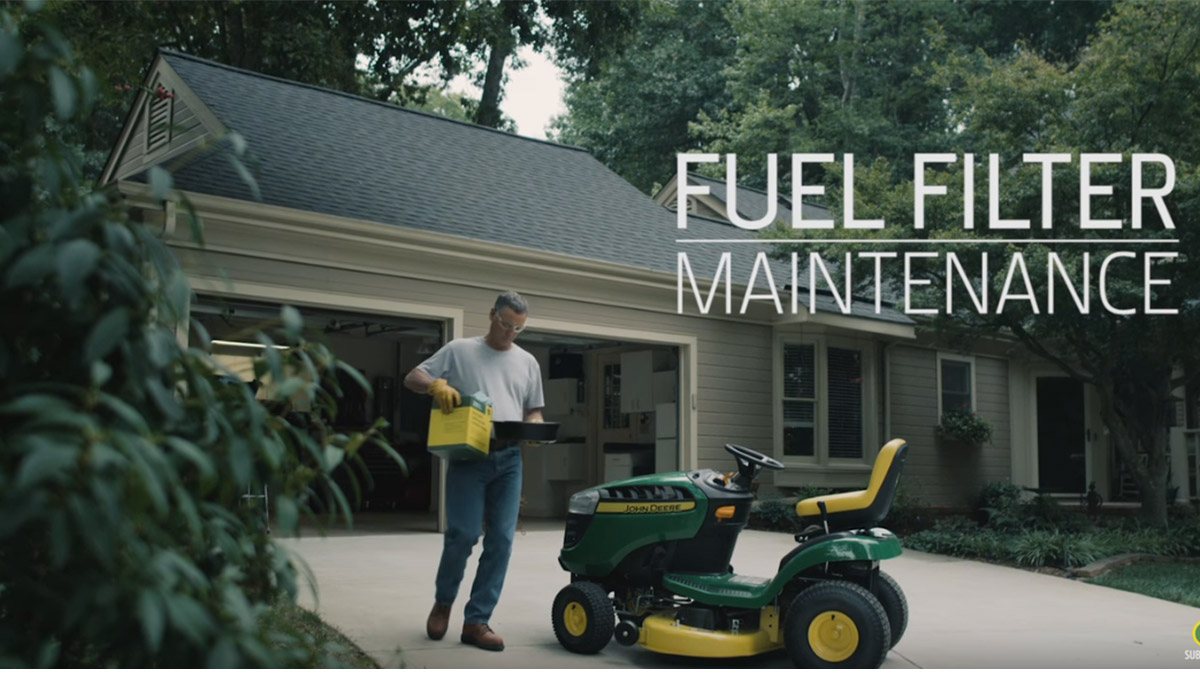 [SCHEMATICS_4CA]  What you need to know about the fuel filter in your D100 Series Lawn  Tractor » Your Backyard Tips | Lawn Mower Fuel Filter |  | Your Backyard Tips - John Deere